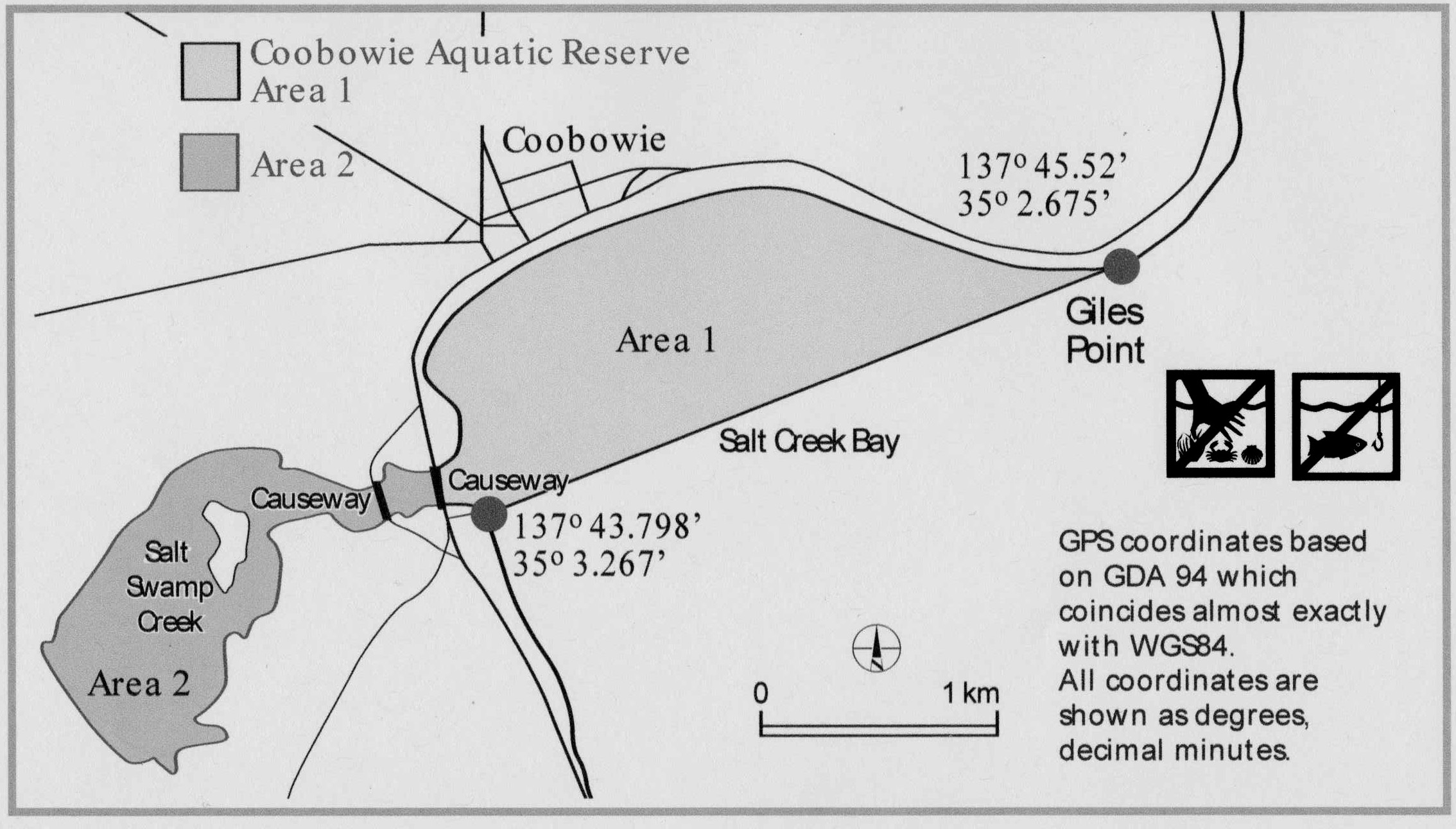 Salt Creek Aquatic Reserve Map
